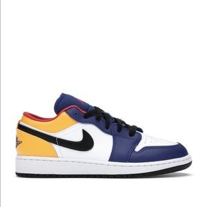 "🖌*NEW* Air Jordan 1 Low ""Royal Yellow"" (GS)"